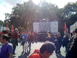 Maraton solidaria en palermo Alquiler de escenarios
