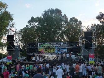 Festival de Reggae Alquiler de escenarios
